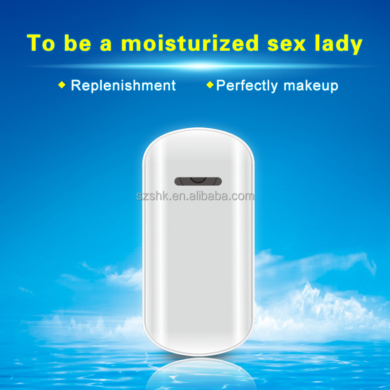 Handy nano faacial mist steamer of beauty care machine for beauty promtional products
