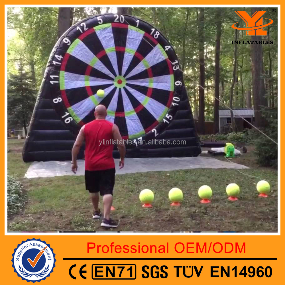 Classic Black Inflatable Sports Darts, Inflatable Dart Ball Games