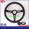 Universal 350mm Leather Classic Steering Wheel for Trucks