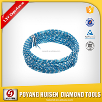 8mm,9mm Diamond Rope/Wire Saw For Cutting Granite/Marble/Stones