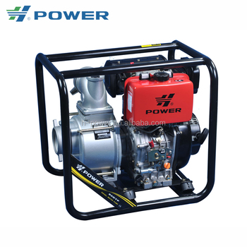 Sophisticated technologies 3 inch 26 rated head diesel engine water pump set