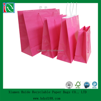 2015 promotional recyclable wedding paper bag