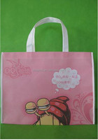 PU Cute Kids Shopping Bag With Cartoon Logo