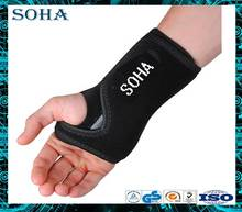 Fitted breathable neoprene wrist brace for carpal tunnel for Right hand