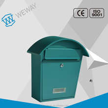 Hot sale wall mounted SECC steel box metal mailbox letterbox postbox