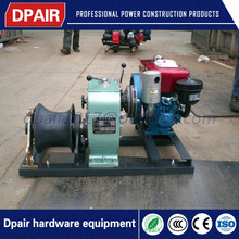 Honda Petrol Engine Powered Fast Speed Winch with high quality