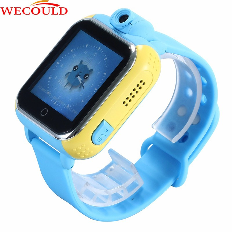 WECOULD 3G Kids Smart Watch With Camera 2.0MP Anti-Lost Remote Monitor SOS Phone Calling Tracker Watch 3G GPS Watch For Kids