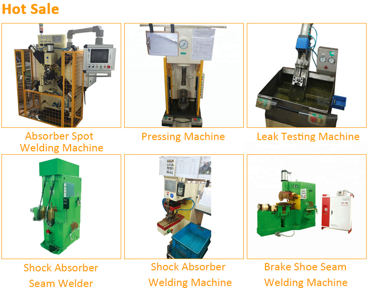 Shock absorber welding pressing machine