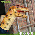 Dinosaur Head Hand Puppet For Sale