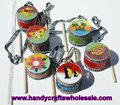 Ethnic Drums Handmade Wooden Hand Music Wood Musical Instruments of the World Wholesale, Ecuador