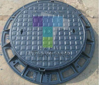Cheap Price Round Pig Iron Double Sealed Class d400 Manhole Cover Grating