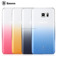 Original Baseus Gradient Hard PC Back Cover Case For Samsung Galaxy Note 5(N9200)