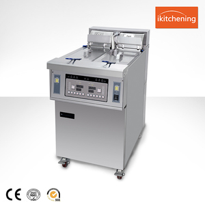high quality commercial induction deep fryer / for factory price chips fryers