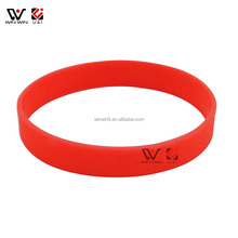 Custom Printing Silicone Rubber Band/cheap custom logo silicone custom rubber wristbands