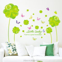 Custom Green Landscape Sticker Paper Flower Wall Decoration Wedding Decoration