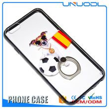 UNUODI-A23 Chinese professional New Lace Ring Buckle Stents Mobile Phone Back Cover Case