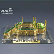 The Holy Mosque crystal model souvenir