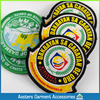 Professional Customized blazer pocket badge embroidered patches