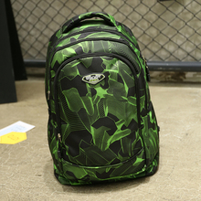 printing pattern school student girls boy new fashion school backpack