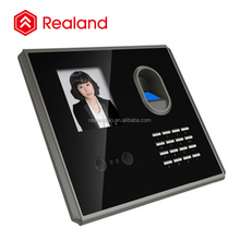 Fingerprint + Face +ID Card Recognition Large Capacity Biometric Attendance Machine Time Clock Recorder (Realand F381)