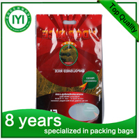 kangaroo zip bags custom shape plastic bag