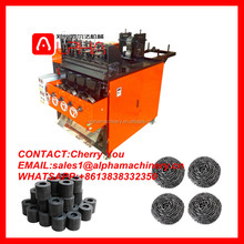 Steel wool making machine/ scouring pad machine/ scrubber sponge machine