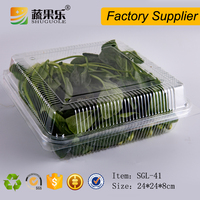 Plastic Material and Tray Type fruit and vegetable packaging tray