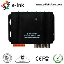 Active Video Balun, 8-Channel Transmit video signals LNK-A80 Series UTP Video Balun