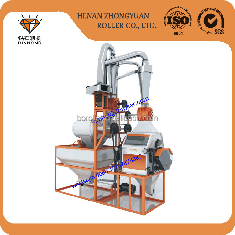 turnkry maize flour machine with factory price atta flour mill
