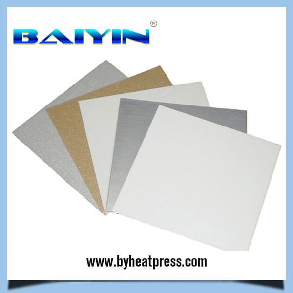Grade A quality Golden aluminum sheet for sublimation