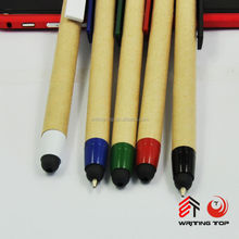 2016 paper pen with color trim and promotional customer mate color