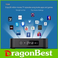 S905 T95M Android TV Box Android 5.1 Amlogic Quad Core 64bit 1G/8G UHD 4 K 3D Mini LAN WiFi XBMC KODI H.265 DLNA Airplay Miracas