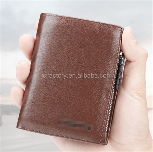 Business style leather slim wallet purses and wallets 2014