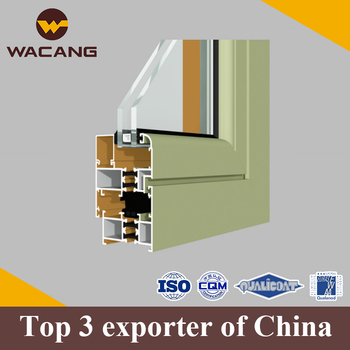 Powder coating extrusion building window aluminium profile