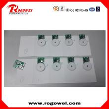 Greeting card music chip / Sound module for greeting card