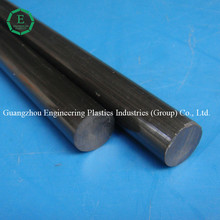 High abrasion resistance TPI rod wholesale black color hard bar TPI plastics rod