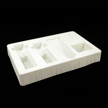 High Quality Plastic Flocking Tray For Cosmetic Packaging