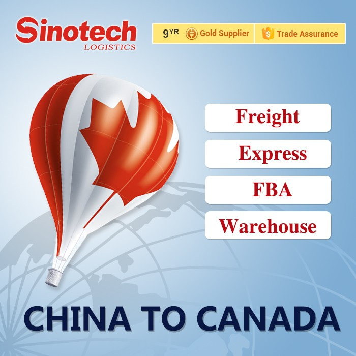 China freight forwarder to Canada air cargo shipping company
