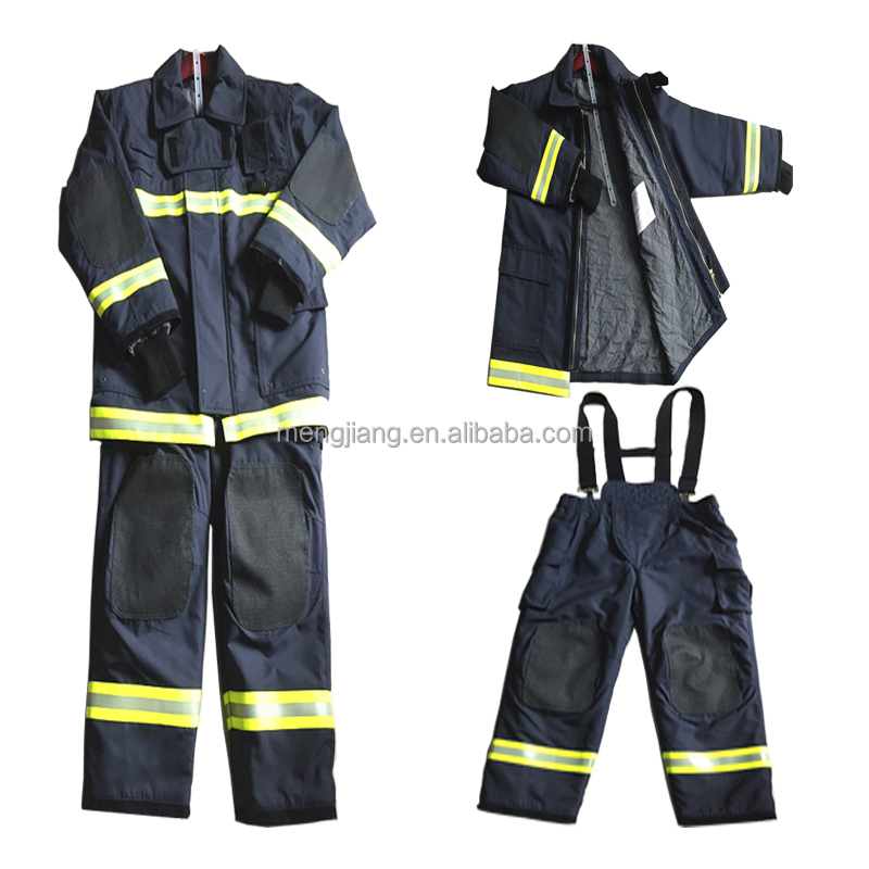Nomex fireman fire fighting suit