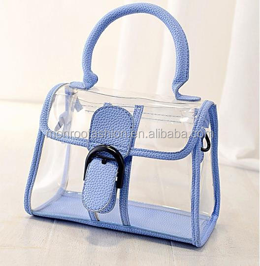 Monroo European minimalist jelly bag handbag shoulder bag women decorative belt