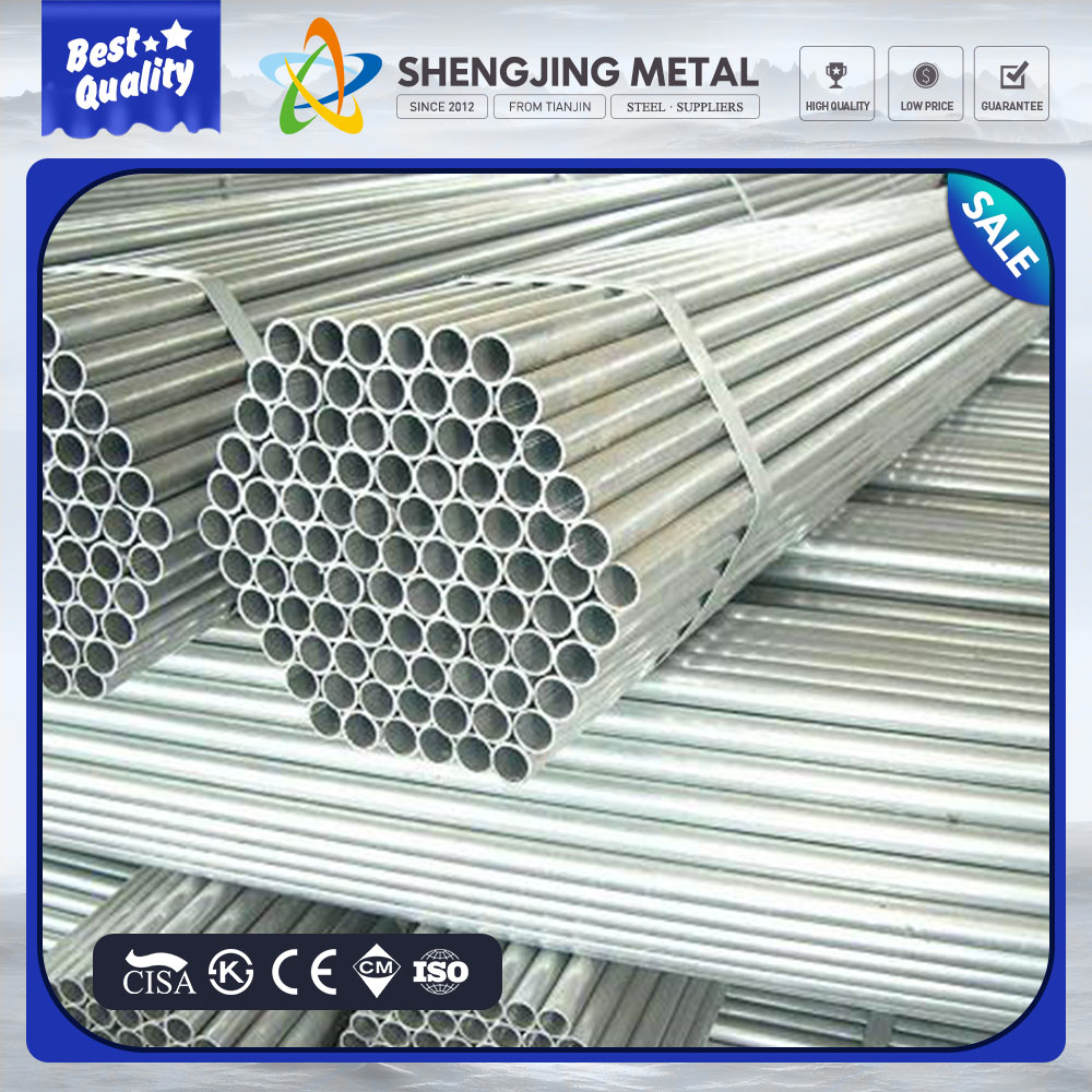 galvanizado tubo, metal galvanized carbon steel conduit, galvanized steel pipe size