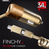 Remax USB Car Charger 3 4A