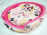 Pink Princess Deluxe Pet Dog Cat Bed