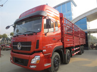 CLW factory sale 8*4 DONGFENG 30ton stake van truck