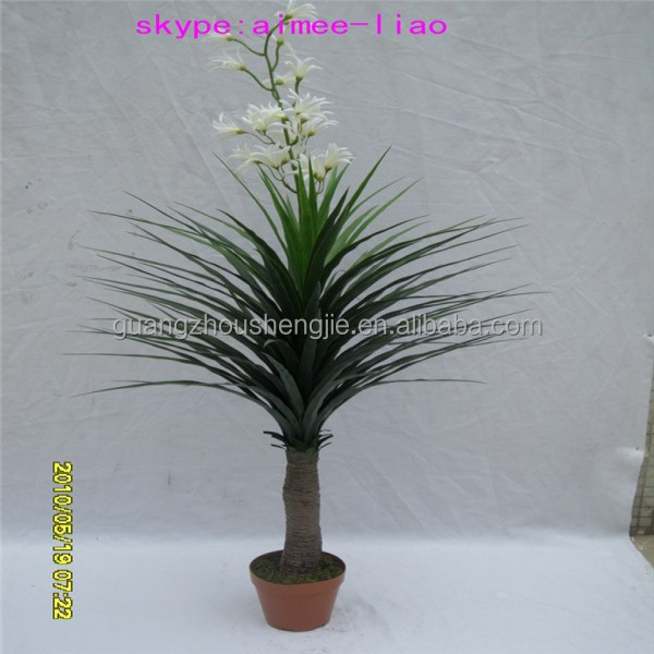 Q122510 garden decoration cheap flower plants sale making artificial bonsai orchid plants