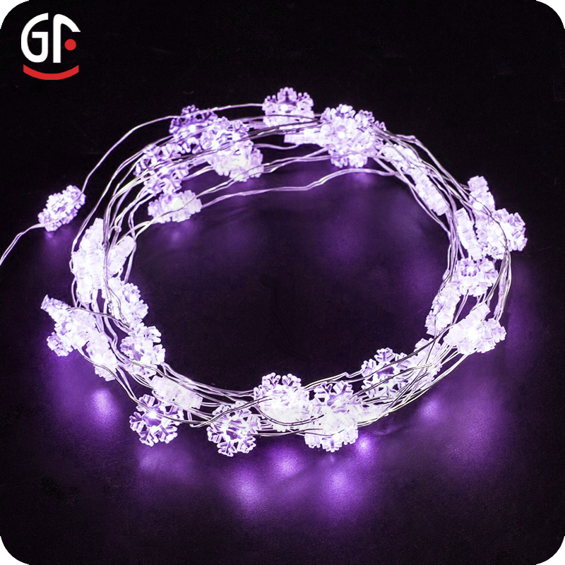 light warm white 12 volt led string lights led snowflake string lights. Black Bedroom Furniture Sets. Home Design Ideas