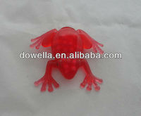 Plastic Water Squeeze Toy,Squishy Frog Toy