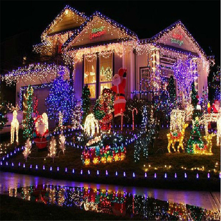 New cover China supplier C7 C9 rgb color changing led christmas light
