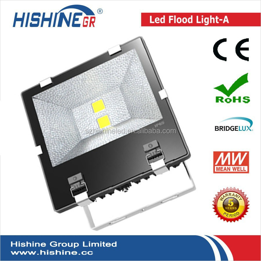 Best choice for big tunnel building lighting project 100w 150w 200w led flood light with CE ROHS IES