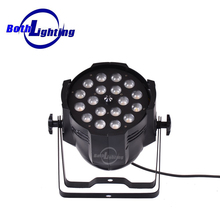 China dmx lighting wholesale 18x18W RGBWAUV 6in1 Stage Wedding Event Lighting Zoom Led Par Can Light